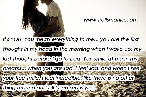 Me her to poems mean for you everything You Mean