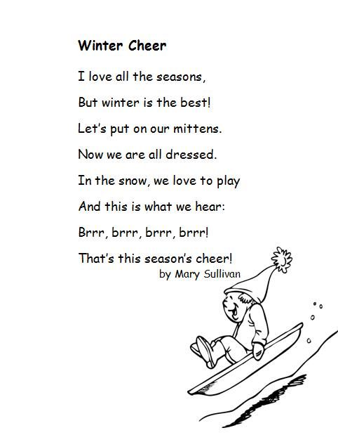 Poem with words short rhyming Poems for