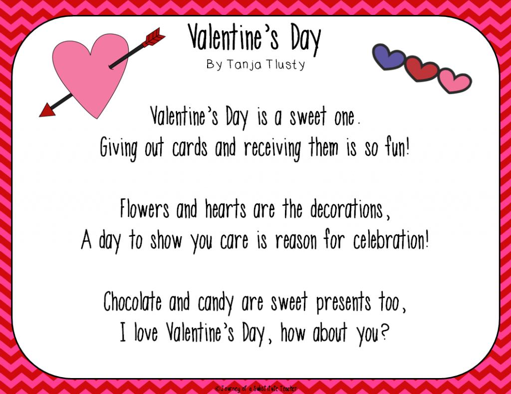 Short valentine love poems