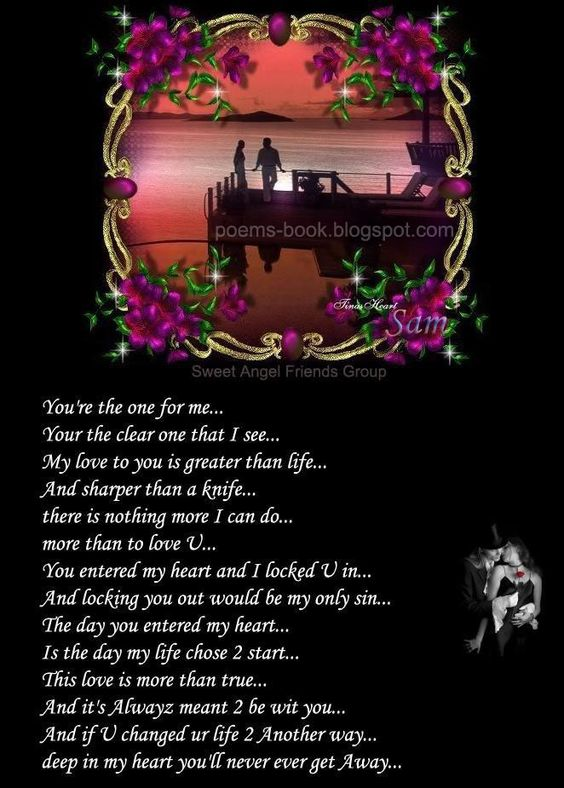 Poems for love him meaningful Short Love