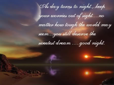 Sweet poems short goodnight Funny, Cute,