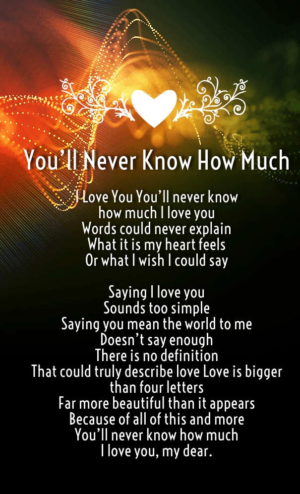 You Mean the World to Me For Him or Her